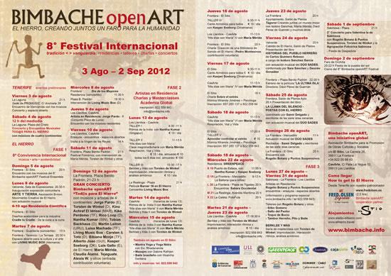 BIMBACHE OPEN ART 8. FESTIVAL