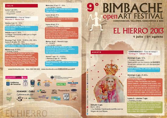Bimbache Programa 2013